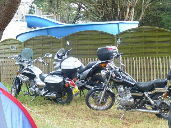 Camping Clos Mer et Nature: nos motos