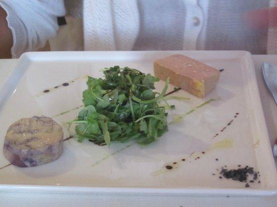 Aupres du Clocher : foie gras