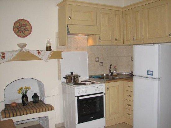 Anemoessa Studio Apartments: Kitchen of the apt 2