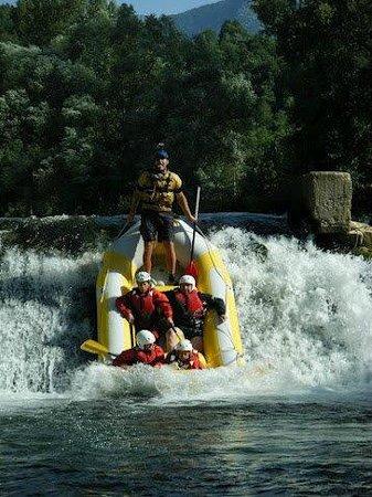 Centro Rafting di Campobase: La rapida...:D