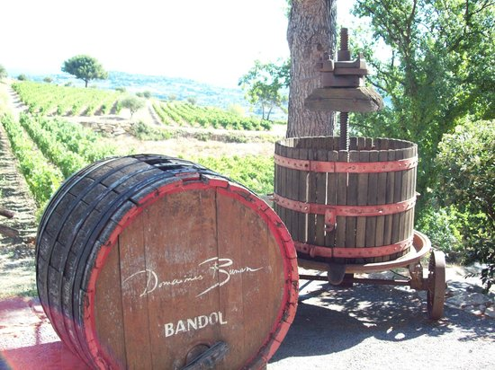 Provence Wine Tours : first winery we went to