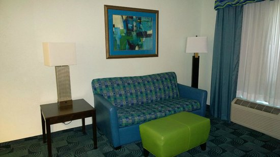 Hampton Inn & Suites Dallas / Lewisville - Vista Ridge Mall: Livingroom