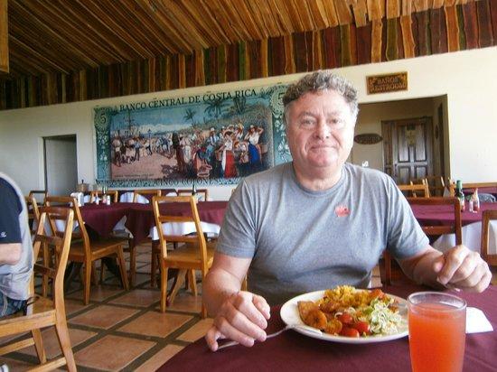 Beach Break Resort : Dîner à la plantation de café.