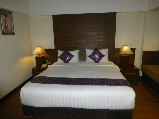 D Varee Diva Bally Sukhumvit: comfortable bed