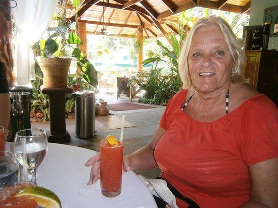 Morgan's Cove Resort & Casino: Dîner à l'hôtel Espadilla, au parc Emanuel Antonio