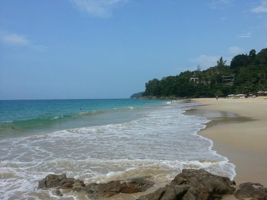 Andaman White Beach Resort: The beach