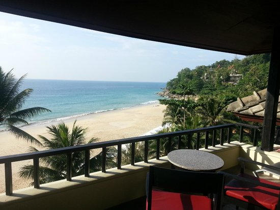 Andaman White Beach Resort: Astonishing view