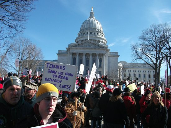 Wisconsin State Capitol: This is what democray looks like