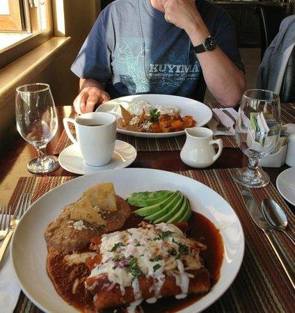 Los Olivos Restaurant at La Mision: lunch