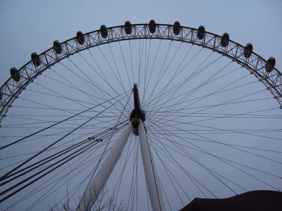 the london eye view from the line