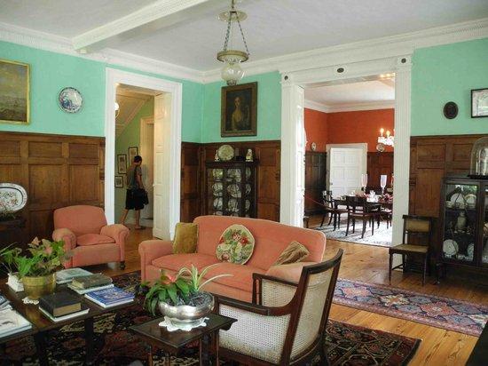 St. Nicholas Abbey: Living Room
