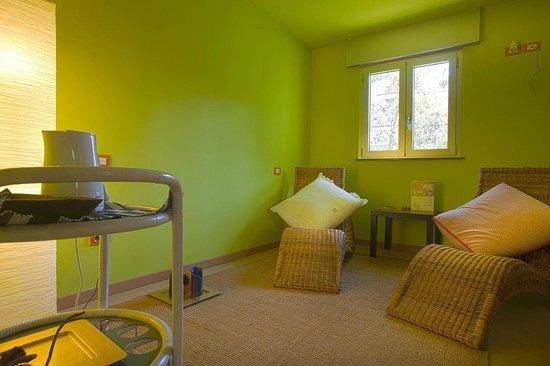Residence Villa Flores: Area Relas per Leggere Rilassarsi e per farsi una buona tisana