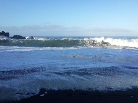 Playa de la Arena : Stormy at Arena Beach