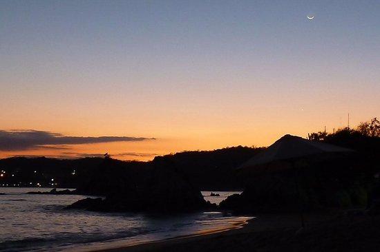 Tangolunda Bay sunset
