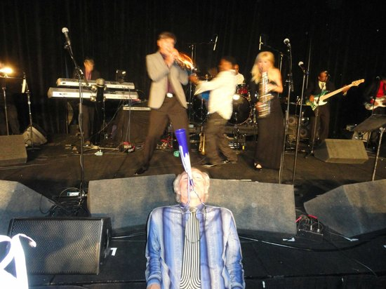 JW Marriott Tucson Starr Pass Resort & Spa : Me on my horn with the band, hahaha!