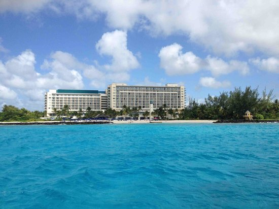 Hilton Barbados Resort: View from the diving boat