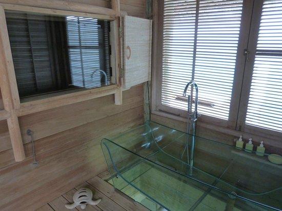 Six Senses Laamu: Salle de bain