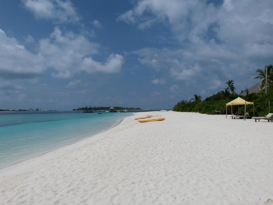 Six Senses Laamu : Plage