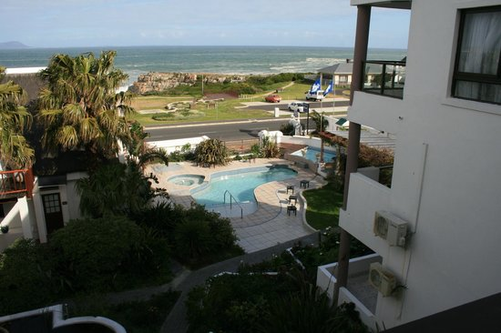 Misty Waves Boutique Hotel Hermanus : Fab view from balcony