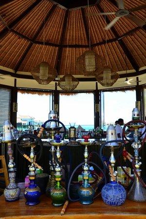 Jumeirah Vittaveli: The view from Bar-ee Bar