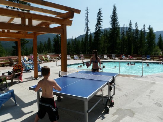 Kimberley Riverside Campground: Pool side