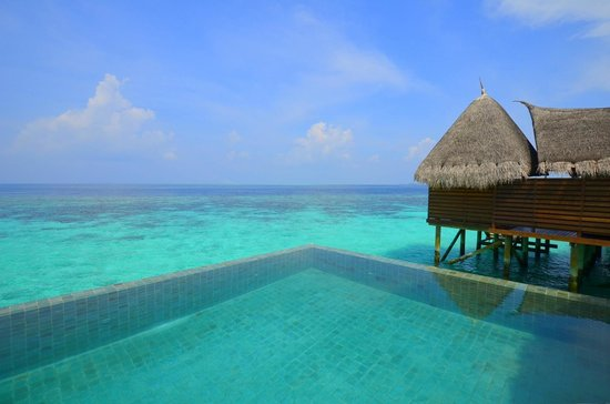 Jumeirah Vittaveli: Another view from our decking