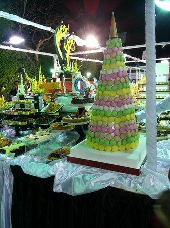 NYE Gala Dinner - Picture of Sultan Gardens Resort, Sharm El Sheikh ...