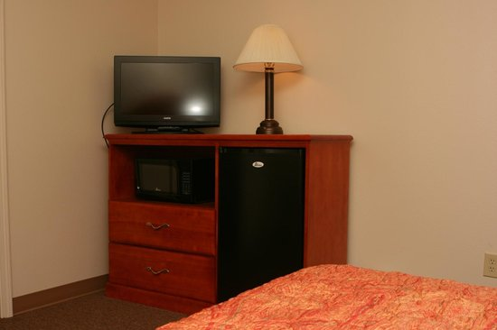 Cable TV, Microwave, and Refrigerator are Standard at Motel Max