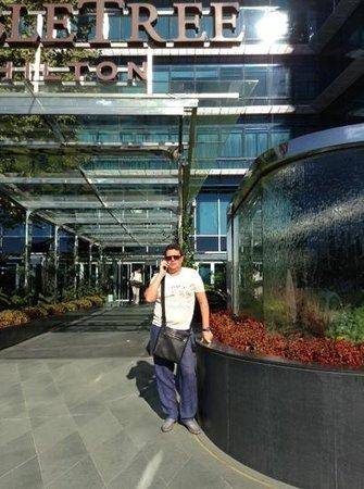 DoubleTree by Hilton Istanbul - Moda : главный вход