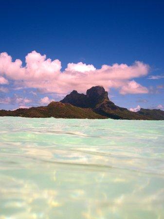 Bora Bora Photo Lagoon : The view