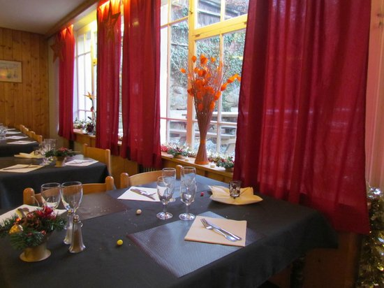 Le Val Joly: Salle restaurant