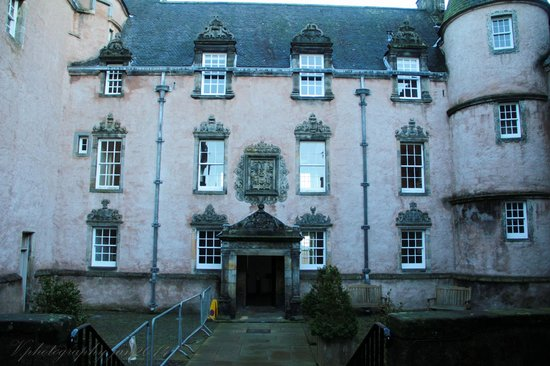 Argyll's Lodging: the entrance