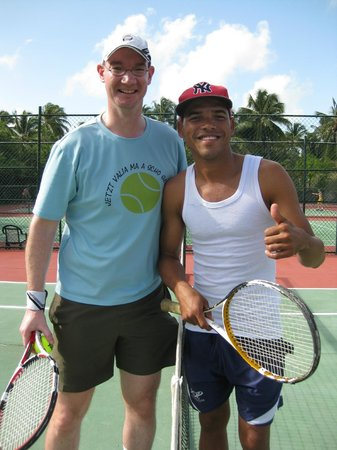 Grand Palladium Punta Cana Resort & Spa: Tennis