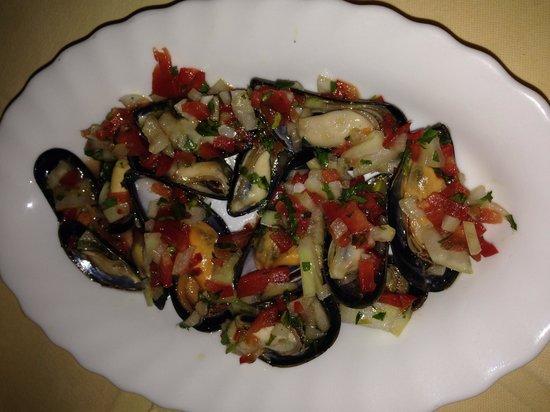 Marbella: Muschelsalat - sehr lecker