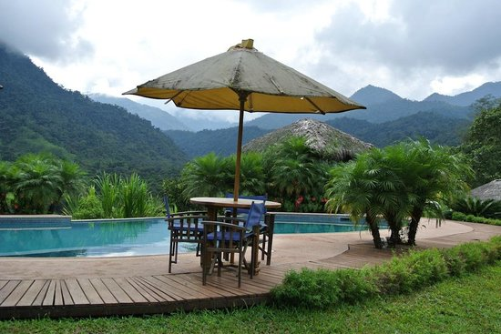 Terrabambu Restaurant Lodge: piscina relax
