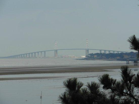 CHRISOCEAN : pont de St Nazaire vue du bord de Loire