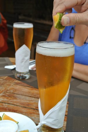 Terrabambu Restaurant Lodge: cerveza