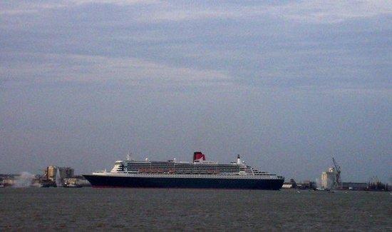 CHRISOCEAN : Départ du Queen Mary 2
