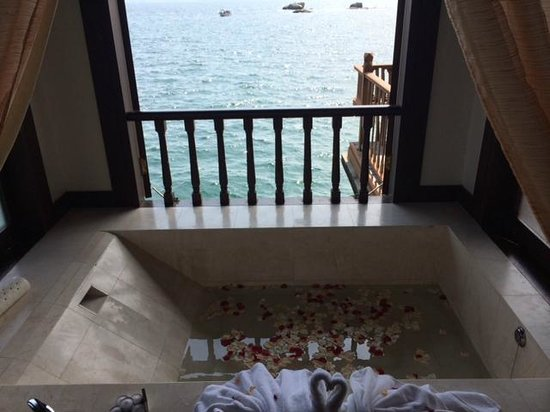 Pangkor Laut Resort : View from the bathroom