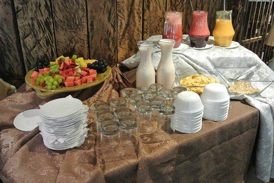 Hosteria dos Chorreras: desayuno