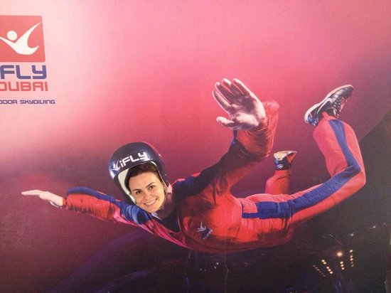 I Fly - Picture of iFly Dubai Indoor Skydiving, Dubai ...