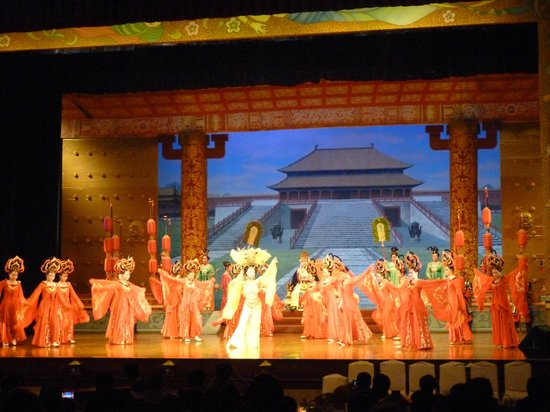 Shaanxi Grand Opera House Xi'an: โชว์ราชวงศ์ถัง