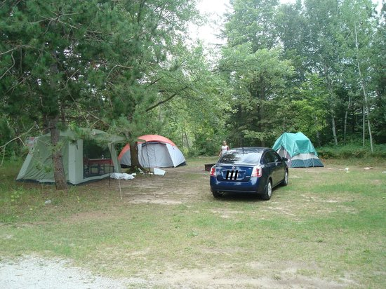 Alliston, Canada: Nice size camp site