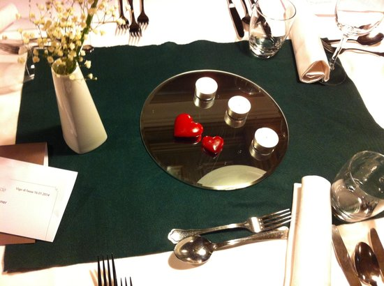 Hotel Catinaccio: Cena ladina