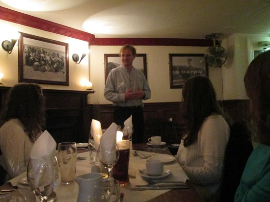 An Evening of Food, Folklore and Fairies: Johnny Daly