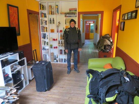 Hostel El Patagonico: PRIMER DIA