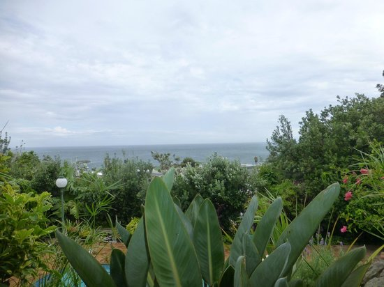 Sea Breeze Camps Bay : View from the patio