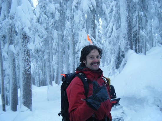 Canadian Wilderness Adventures: Barny our skilled and knowledgeable guide