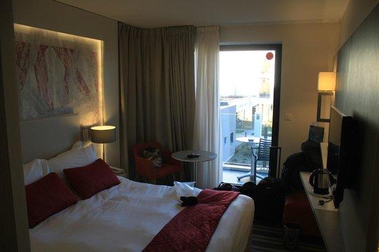 Hôtel les bains de Cabourg : La chambre