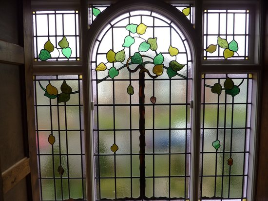 The Old Rectory Weymouth: Art Deco Stained Glass Windows